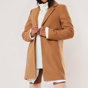 Missguided Brown Coat